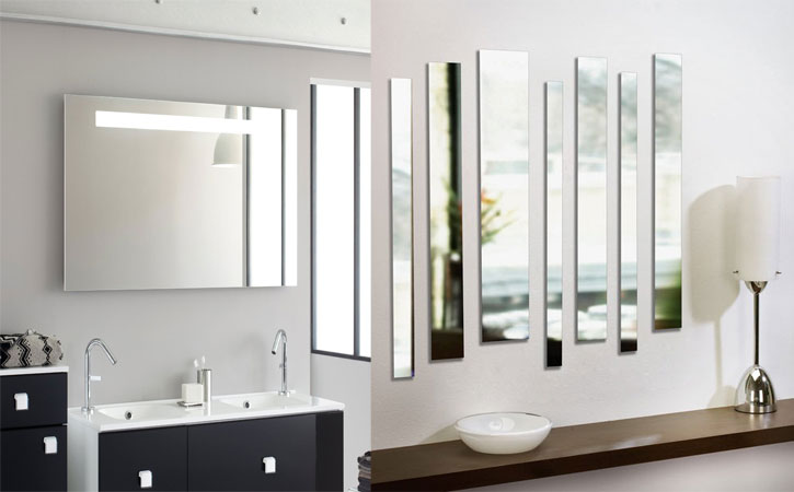 R paration et installation de miroir instalation de for Devant la fenetre